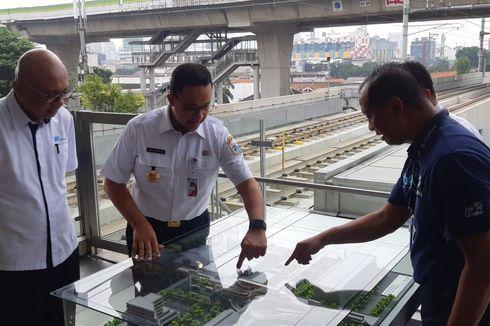 MRT-Transjakarta Terintegrasi, Anies Bilang Pembangunan di Indonesia Harus sebagai Kesatuan