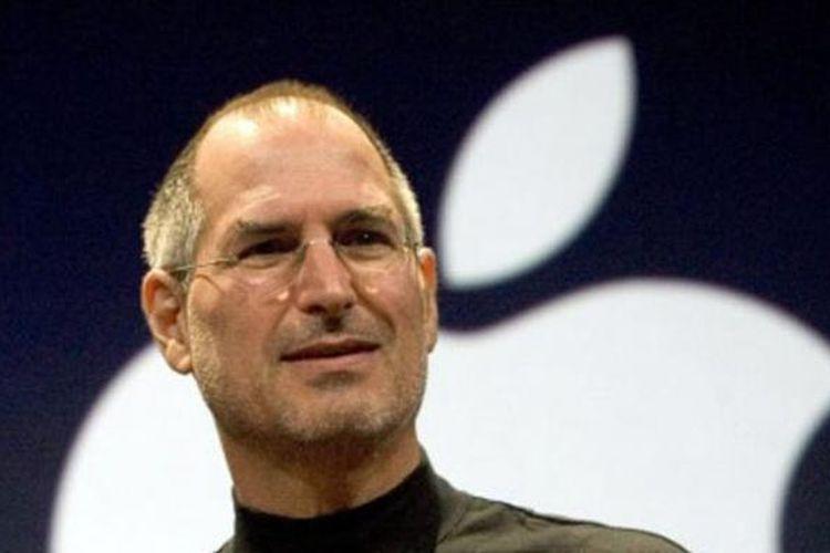 CEO Apple Steve Jobs pada peluncuran iPhone baru tanggal 9 Januari 2007 di San Francisco, California.