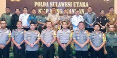 Hadapi Pemilu 2019, Gubernur Olly Ajak TNI dan Polri untuk Bersinergi