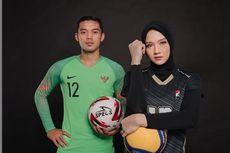 Olahraga dan Takdir Cinta, Kiper Timnas U23 Nikahi Bintang Proliga
