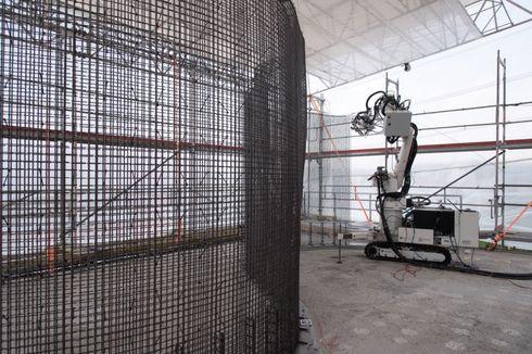 Rumah Tiga Lantai Ini Dibangun oleh Robot