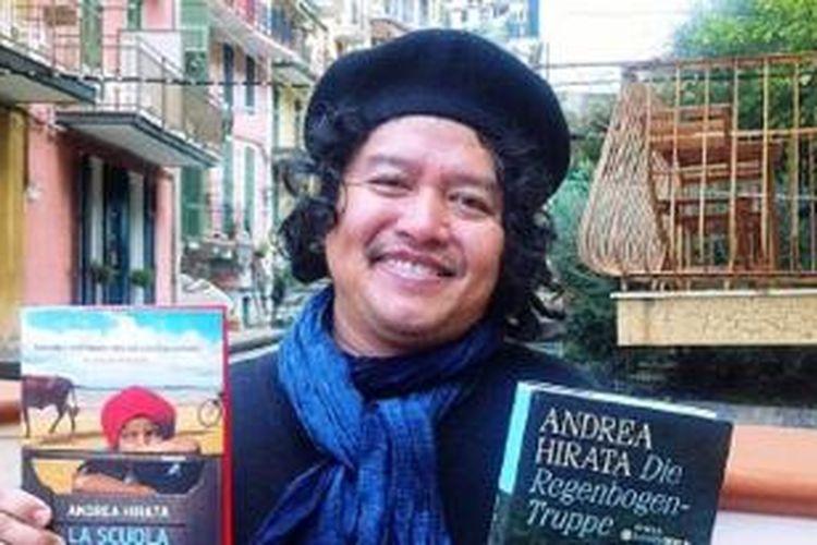Novelis Andrea Hirata.