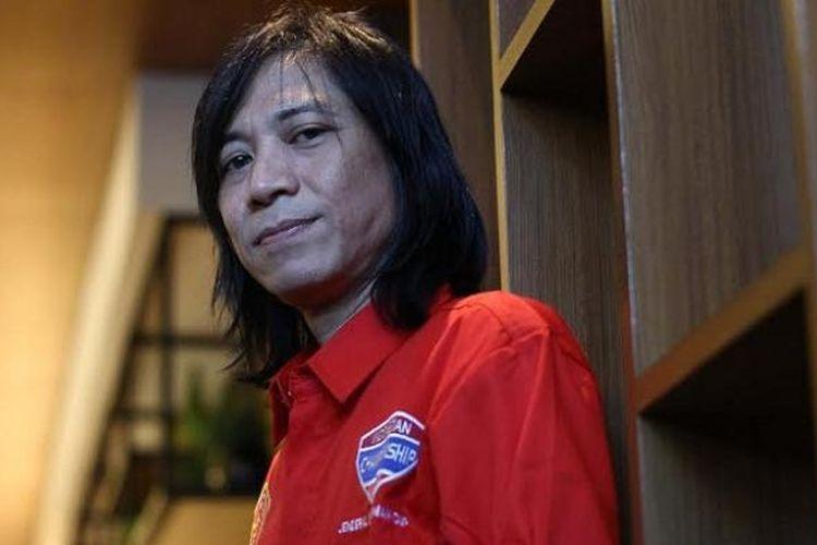 Gitaris Slank sekaligus Steering Committee Piala Jenderal Sudirman, Abdee Negara.