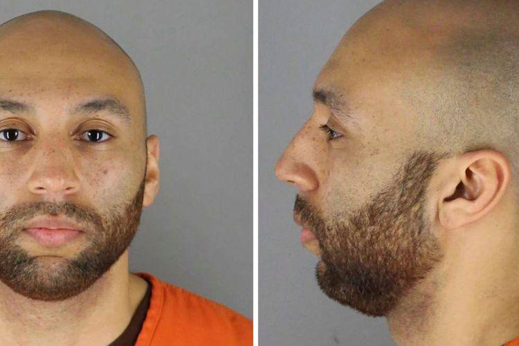J Alexander Kueng, salah satu eks polisi yang menjadi pelaku pembunuhan George Floyd di Minneapolis, Minnesota, Amerika Serikat, pada 25 Mei lalu.