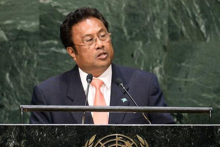 Presiden Palau Tommy Remengasau.