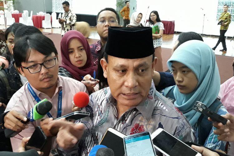 Deputi Penindakan Brigjen (Pol) Firli di Gedung KPK Jakarta, Jumat (6/4/2018)