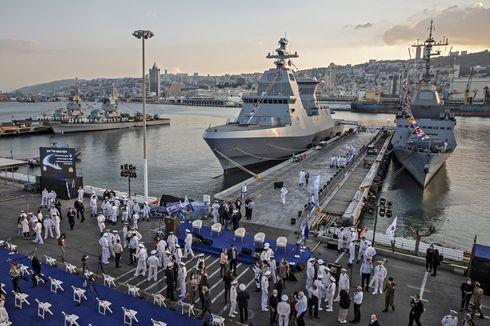 Israel Datangkan 7 Kapal Misil Baru, Bisa Lebih Kuat untuk Lawan Iran