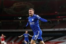 Arsenal Vs Leicester, Vardy Turun Tangan, The Foxes Menang!