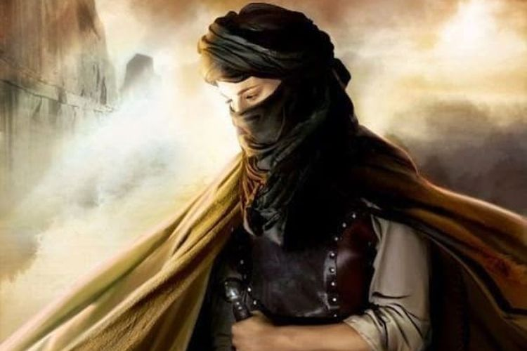 Khawla binti Al-Azwar. [Via History Collection]
