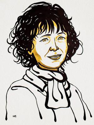 Emmanuelle Charpentier.