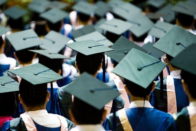 Ilustrasi lulusan perguruan tinggi susah cari kerja dan menjadi pengangguran ketika lulus