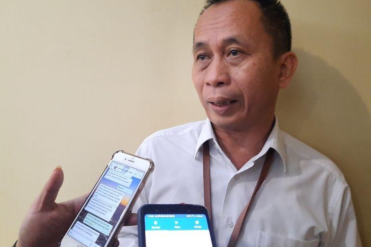 Deputi Bidang Perlindungan Anak Kementerian Pemberdayaan Perempuan dan Perlindungan Anak (PPPA) Nahar saat ditemui di Kantor Kemen PPPA di Medan Merdeka Barat, Jakarta Pusat, Selasa (14/1/2020).