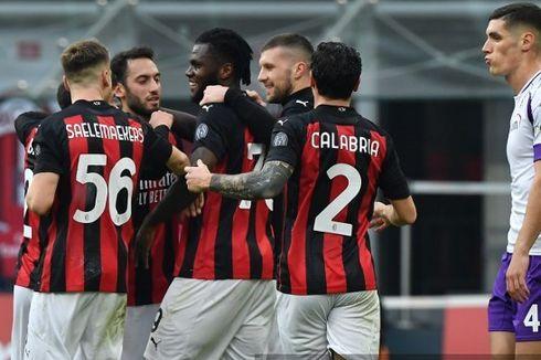 Klasemen Liga Italia - Roma Melejit, AC Milan Rawan Digusur Inter
