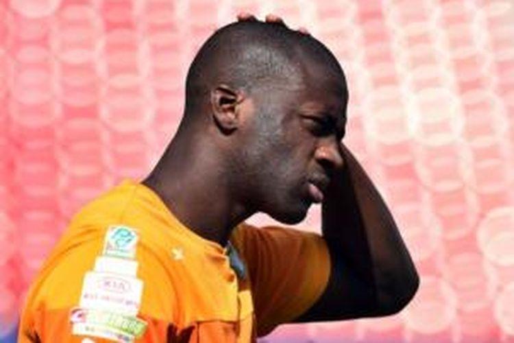 Gelandang Pantai Gading, Yaya Toure.