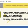 PPDB SMP Kota Semarang 2021, Alur Pra Pendaftaran dan Cara Daftarnya