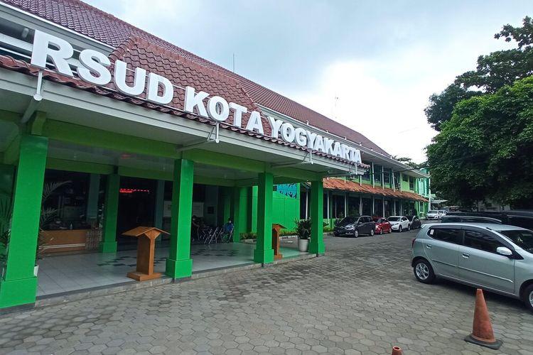 suasana RSUD Kota Yogyakarta, Rabu (23/6/2021)