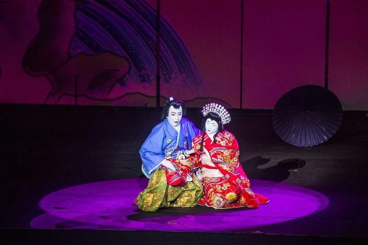 Ilustrasi Teater Kabuki khas Jepang DOK.Shutterstock