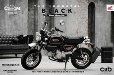 Honda Rilis Monkey The Immortal Black Edition