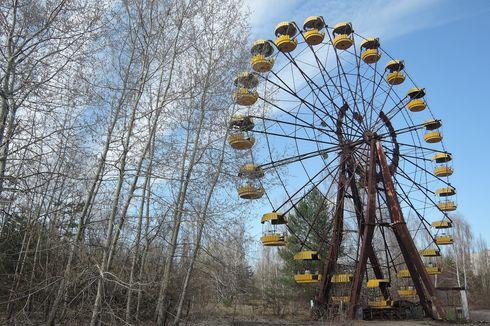 Menjelajahi Wisata Situs Nuklir Chernobyl Lewat Tur Udara