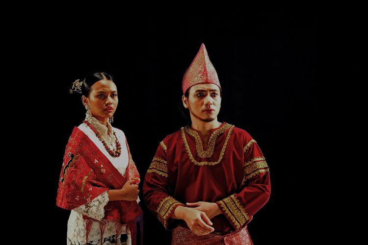 Salah satu adegan musikal online Malin Kundang yang dipersembahkan oleh Indonesiakaya.com dan Boow Live