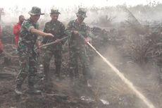 Atasi Kebakaran Tanah Gambut, 10 Alat Berat Diturunkan untuk Buat Drainase