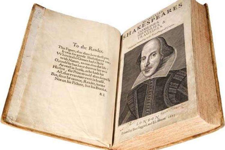 Kumpulan karya William Shakespeare yang dipublikasikan pada 1623.