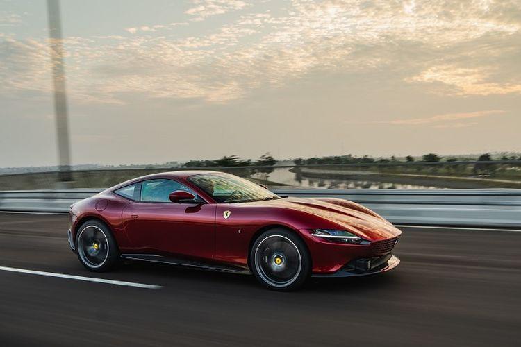 Ilustrasi Ferrari Roma