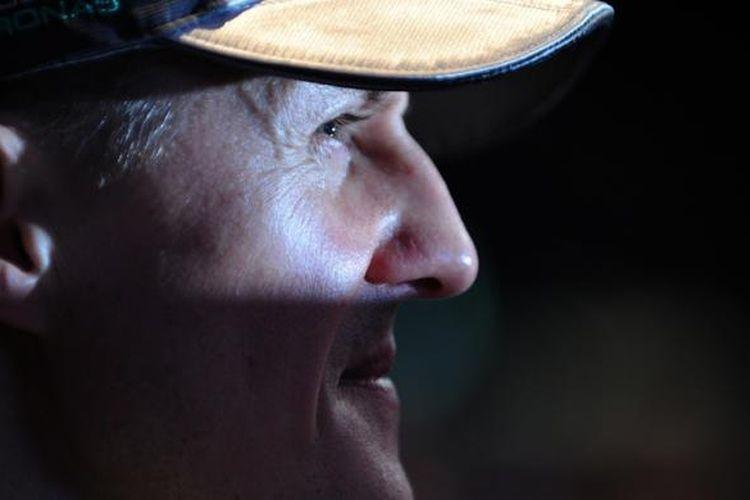 Mantan pebalap Formula 1 asal Jerman, Michael Schumacher.