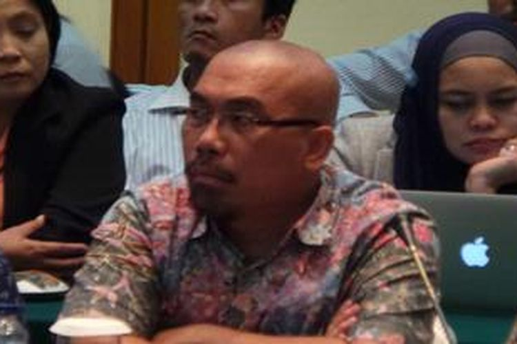 Ketua  Dewan Transportasi Kota Jakarta (DTKJ) Azas Tigor Nainggolan