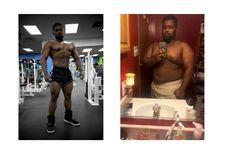 Transformasi Thomas, 10 Bulan Turun Bobot 48 Kg dan Bentuk Otot