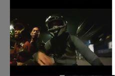 Viral Video Penjahat Gagal Begal Motor Biker