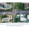 Simak Rincian Rekayasa Lalin Konstruksi Stasiun MRT Jakarta Fase 2A