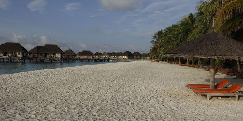 Club Med Kani di Maladewa atau Maldives, Sabtu (15/7/2017).