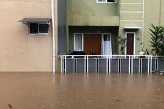 Banjir 1,3 Meter di Jatiwarna Bekasi, Warga Mulai Mengungsi