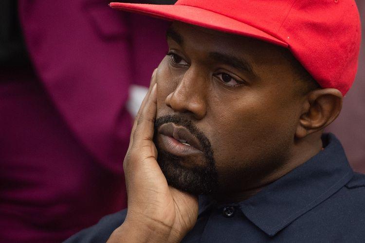 Penyanyi rap AS, Kanye West.