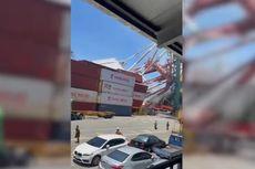 Kapal Kargo 80.000 Ton Tabrak Crane di Pelabuhan Taiwan