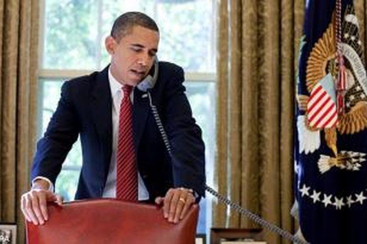 Presiden Amerika Serikat, Barack Obama.