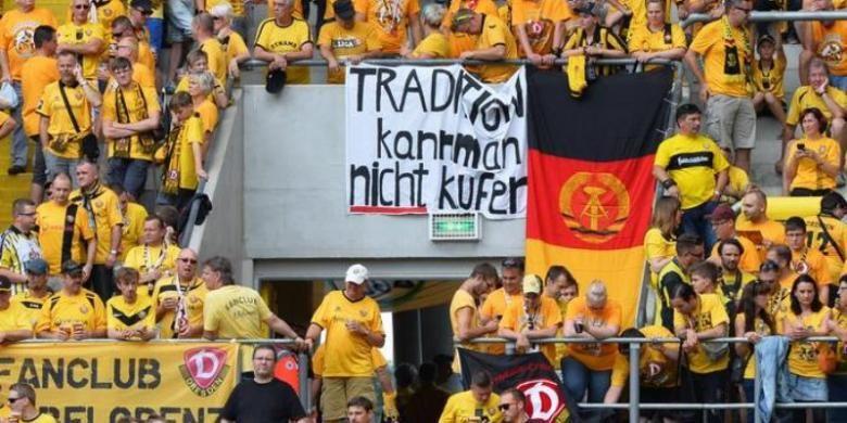 Suporter klub Bundesliga 2, Dynamo Dresden.