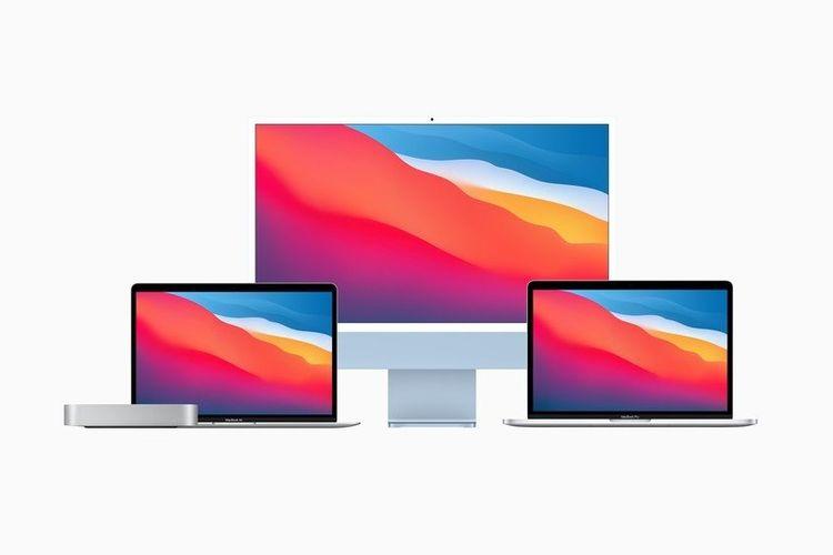 Deretan produk Mac yang dibekali dengan prosesor Apple M1.