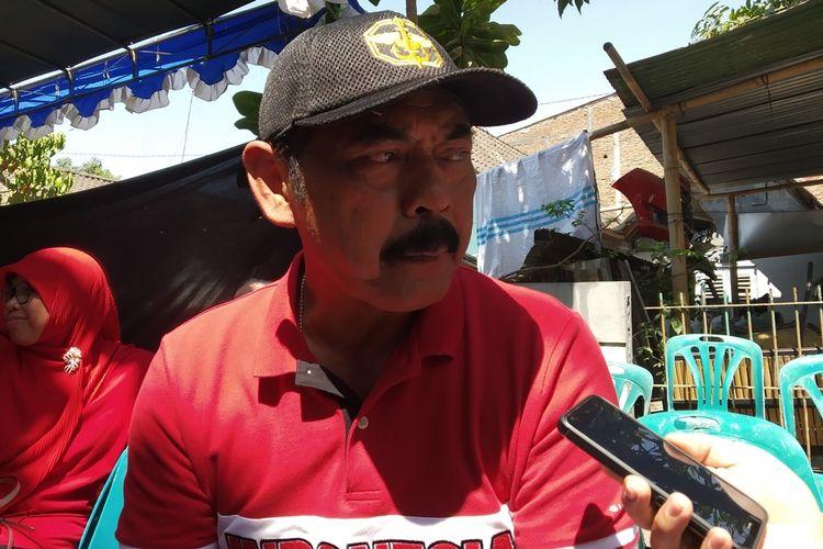Wali Kota Surakarta FX Hadi Rudyatmo di Solo, Jawa Tengah, Jumat (11/10/2019).