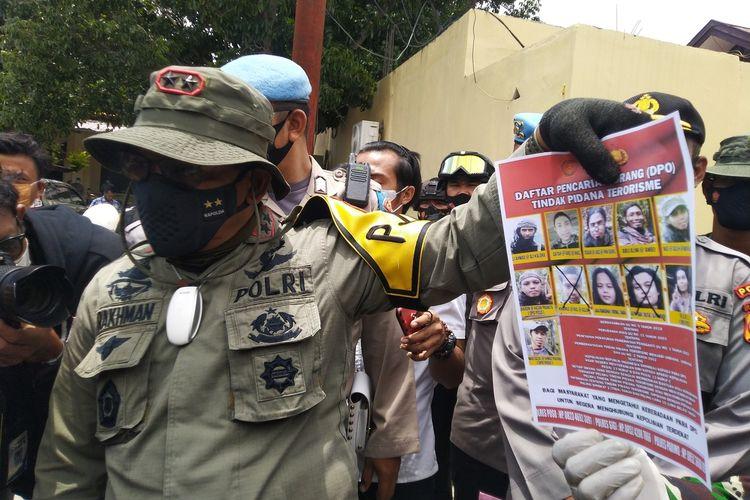 Kapolda Sulteng Irjen Pol. Drs. Abdul Rakhman Baso saat memberi keterangan pers terkait tewasnya dua DPO MIT pimpinan Ali Kalora, Selasa (2/3/2021).