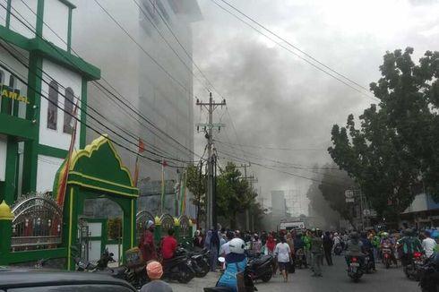 Saat Gedung Telkom Terbakar, Sekuriti Sampai Jemput Petugas Damkar karena Jaringan Mati