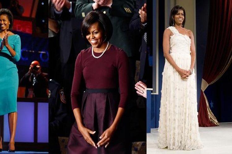 Berbagai penampilan Michelle Obama di depan publik.