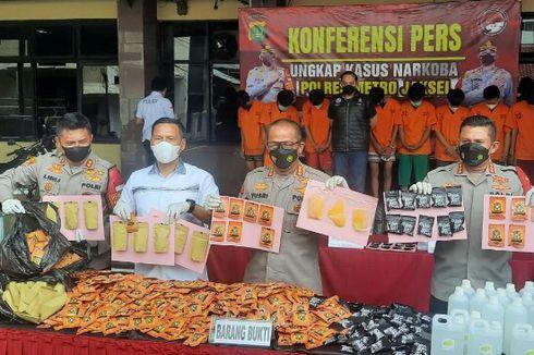 Polisi Sebut Tembakau Sintetis di Bogor dan Bandung Dikemas dalam Bungkus Makanan Ringan