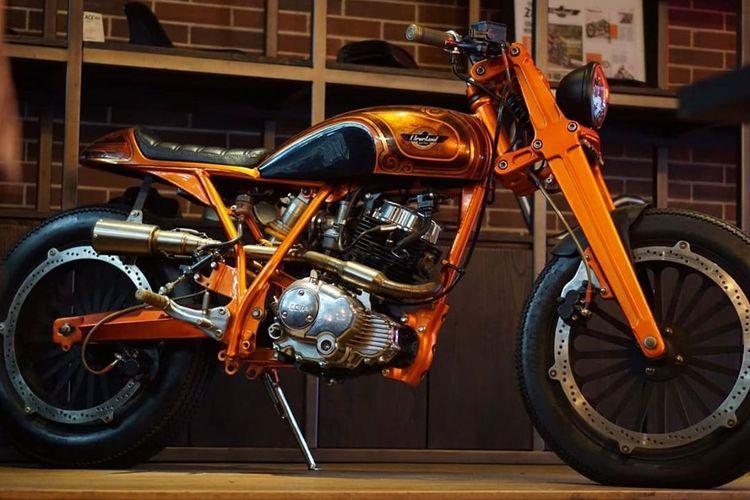 Deretan motor custom Cleveland Cyclewerks hasil kolaborasi dengan builder lokal