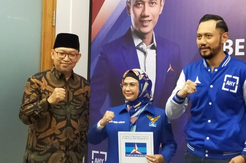 Terbitkan Rekomendasi, Demokrat Resmi Dukung Azizah Ma'ruf-Ruhama Ben di Pilkada Tangsel