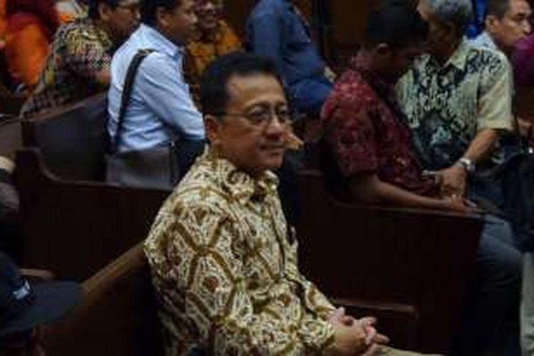 Mantan Ketua Dewan Perwakilan Daerah, Irman Gusman, di Pengadilan Tipikor Jakarta, Selasa (20/12/2016).