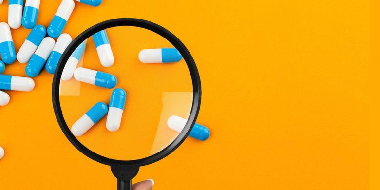 Ilustrasi obat, obat-obatan