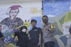 "Mural Berjudul ""Kamu yang Abai Jangan Sampai Kami yang Menuai"" Menang Festival Mural Goyang Karawang 2021"