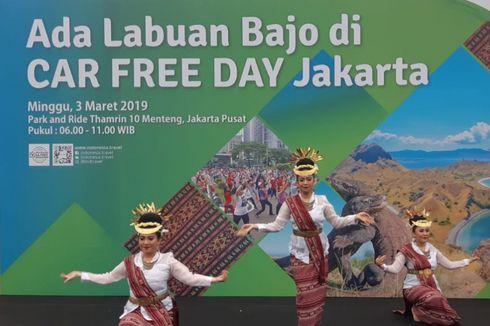 Saat Pengunjung Menikmati Sensasi Berkunjung ke Labuan Bajo di CFD, Jakarta